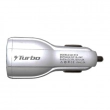 Carregador Turbo Power Veicular 2.0 Com 2 Portas Usb